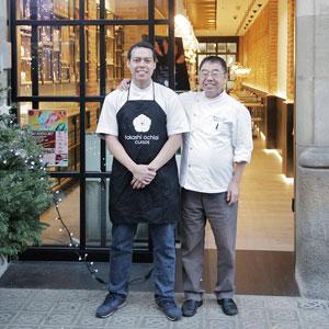 Takashi y Ken Ochiai