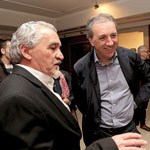 Paco Torreblanca con Alberto Ruiz en Gastroarte 2