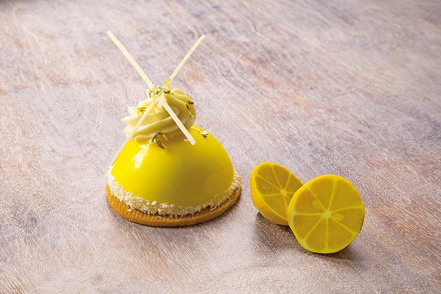 Monoporción de limón y manzana verde de Jordi Puigvert