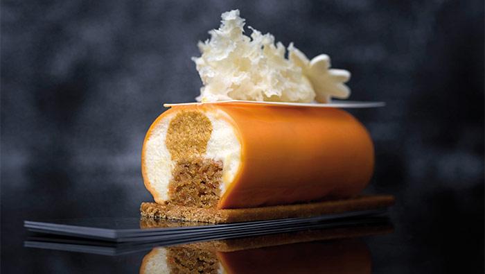cake zanahoria de Bachour