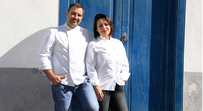 Alexis García y Marlene