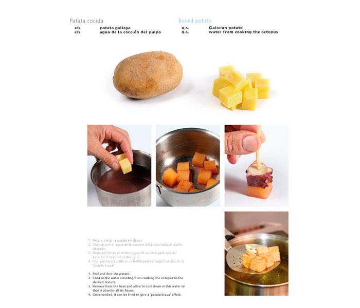 Patata cocida de Jose Romero