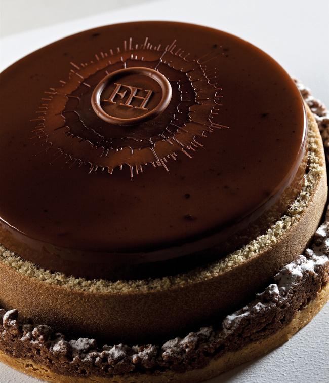 Tarta de chocolate de Frank Haasnoot