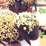 Desde Chocolat Factory, Jordi Farrés nos ofrece modelos tan elegantes como este corderito