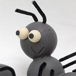 La mascota de -els negres- en las fiestas locales son estas simpáticas hormigas