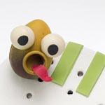 Otro de los trabajos de archivo de Marc, el -huevopádel-