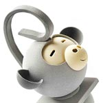 el elegante mono en blanco de Oriol Balaguer
