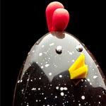 Las gallinas y los gallos se han convertido en una figura recurrente entre las propuestas de Pascua de Patrick