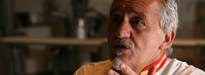 El maestro pastelero Paco Torreblanca
