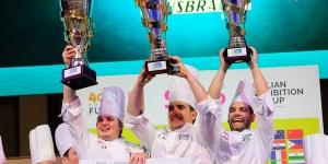 Imagen de Italia barre en el Pastry Junior con un nuevo equipo liderado por Davide Malizia