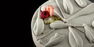Imagen de Escarchado con chocolate, fruta y té de Oriol Balaguer