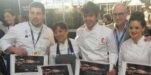 Imagen de Ana Lucía Jarquín y Pol Contreras, premios revelación de pastelería en Madrid Fusión
