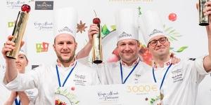 Imagen de Suiza gana la European Pastry Cup