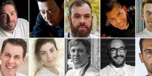 Imagen de 10 chefs pasteleros a medio camino entre la cocina y el obrador