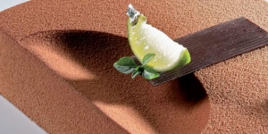 Imagen de Edén, el pecado original. La tarta tributo a la manzana, de Hans Ovando