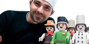 Imagen de Clicks Playmobil de chocolate en La Rioja