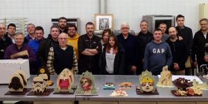 Imagen de Monas de Pascua con Claudi Uñó en el Gremi de Pastisseria de Lleida