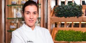 Imagen de Montse Abellá, del Santceloni, recibe el Prix Au Chef Pâtissier 2019