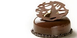 Imagen de Pastel Bikina de chocolate negro y chile chipotle de Marcos Zaragoza
