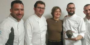Imagen de Pallàs, Vela, Sempere y Torreblanca comparten secretos de pastelería en Astorga