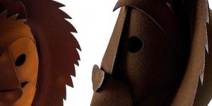 Imagen de El león enmascarado de chocolate de Miquel Guarro | Pascua 2018 (VII)