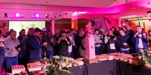 Imagen de Gran presentación del chocolate Ruby de Callebaut en España