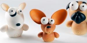 Imagen de Las mascotas más fieles se incorporan a la fauna chocolatera de Raúl Bernal | Pascua 2020 (II)