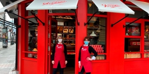 Imagen de Arrese sigue creciendo y abre una tienda quiosco en Bilbao