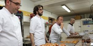 Imagen de La pastelería de Franck Fresson a fondo en el aula de Jordi Bordas