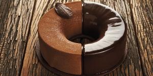 Imagen de Tarta de cremoso de chocolate y naranja de Luciano García