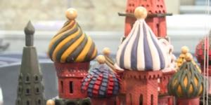 Imagen de Una espectacular reproducción de la Catedral de San Basilio, Mejor Figura de Chocolate