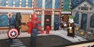Imagen de El atraco al banco de Gotham City por Jordi Sempere gana el XV Concurso de Figuras de Chocolate