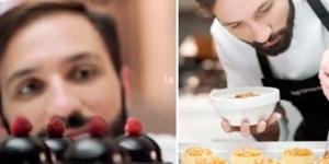 """Imagen de Los """"perfect match"""" de Nespresso y Luciano García en la feria Masticar"""