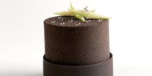 Imagen de Pastel individual de té Chai, pera y chocolate de Olga Cros