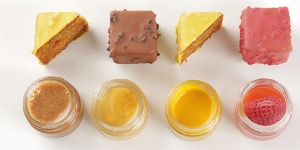 Imagen de Poundcake de fresa en ligera salmuera de Andrea Dopico