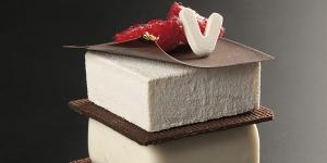 Imagen de Individual de chocolate, vainilla y frambuesa de Lluïsa Estrada