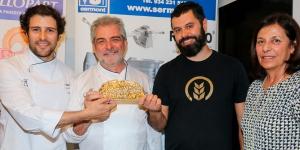 Imagen de  Antonio Ramos y Javier Cocheteux comparten la Miga de Oro de Madrid