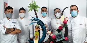 Imagen de Sesiones de chocolate artístico en The Lab by Sergi Vela
