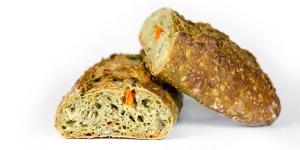 Imagen de Pan de verano de Turris, con espinacas, zanahorias y lentejas