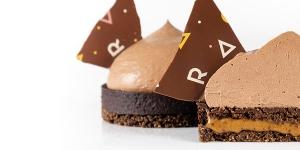 Imagen de Mahoë chocolate tart con ganache aérea y sin gluten de Richard Hawke