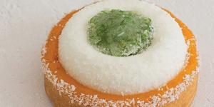 Imagen de Tartaleta de lima, mango y coco de Laura Vervoort