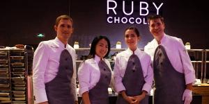Imagen de Barry Callebaut presenta por todo lo alto su nuevo chocolate Ruby en Shanghai