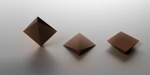 Imagen de Dandelion y Tesla crean chips de chocolate geométricos 3D