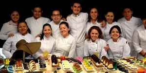 Imagen de La pastelería de Jérôme de Oliveira en un curso de Maricú