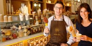 Imagen de Los churros con chocolate se ponen gourmets con Oriol Balaguer