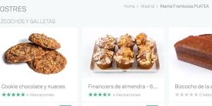 Imagen de Mama Framboise abre su pastelería a la venta online
