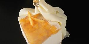 Imagen de Pastel Calanda con melocotón y queso azul de Elena Adell