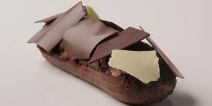 Imagen de Éclair Chocolate Cassis de Miguel Costa
