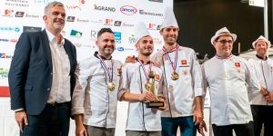 Imagen de Francia, con Yohan Ferrant, queda tercera en el Mundial del Pan