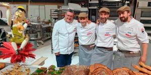 Imagen de Los Espigas, en el Top 4 de la 20ª Copa de Europa de Panadería